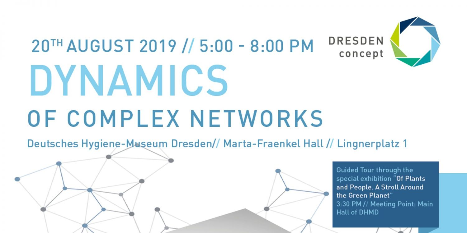 Flyer SAN dynamics of complex networks