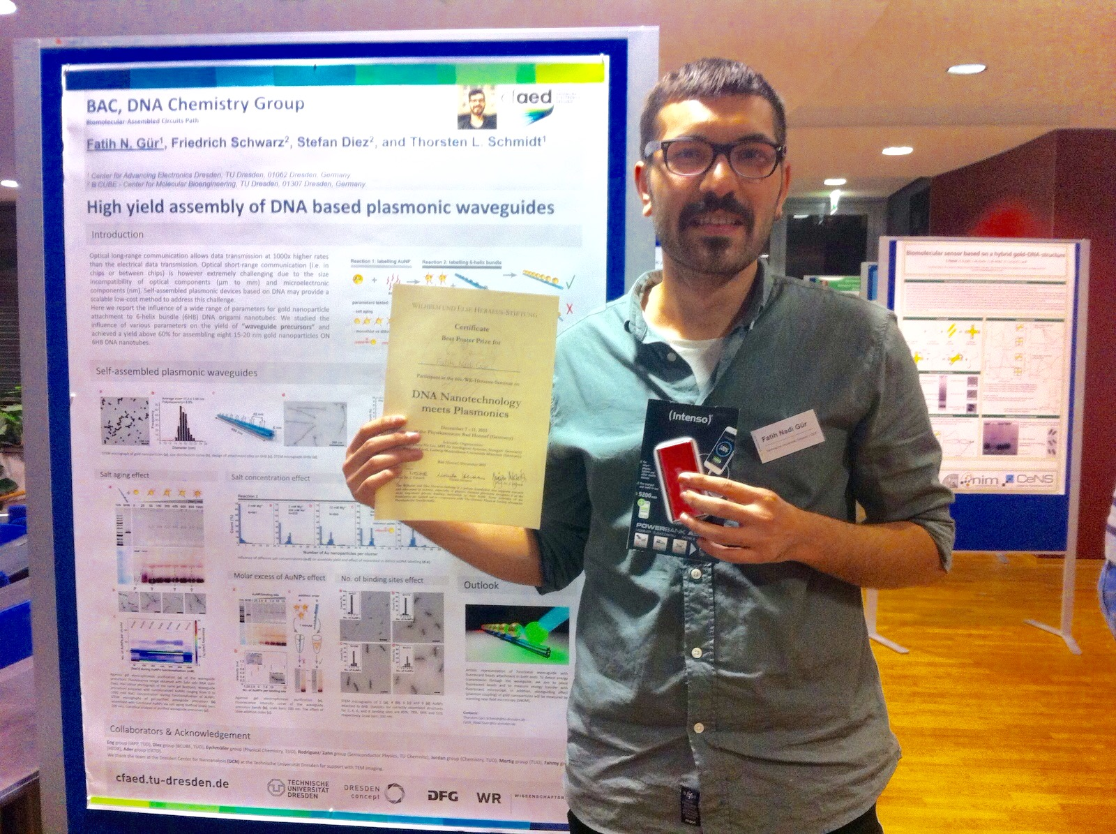 Poster Prize Fatih